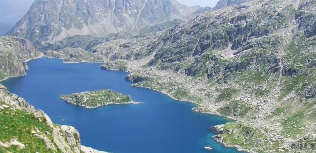 Ruta de los 7 lagos en Colomèrs